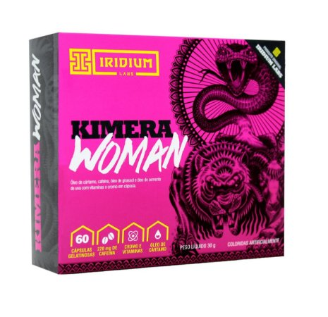 Termogênico Kimera Woman 60 Cápsulas - Iridium Labs
