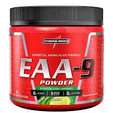 EAA-9 Powder Aminoácidos Essenciais 155g - IntegralMedica