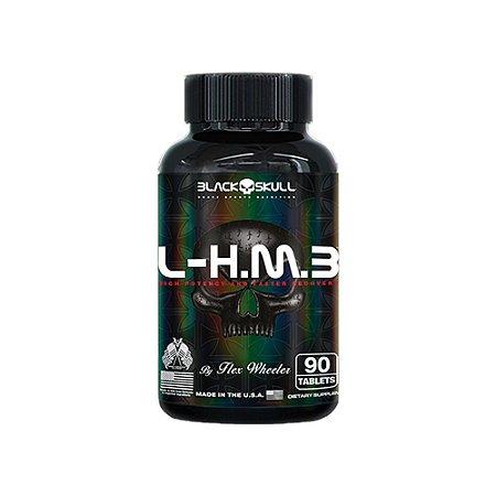 L - HMB 90 cápsulas - Black Skull