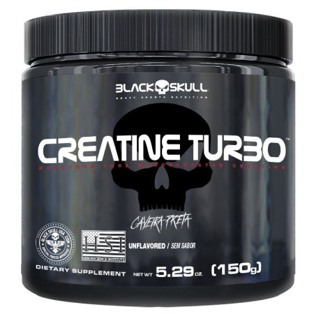 Creatina Turbo 150g - Black Skull