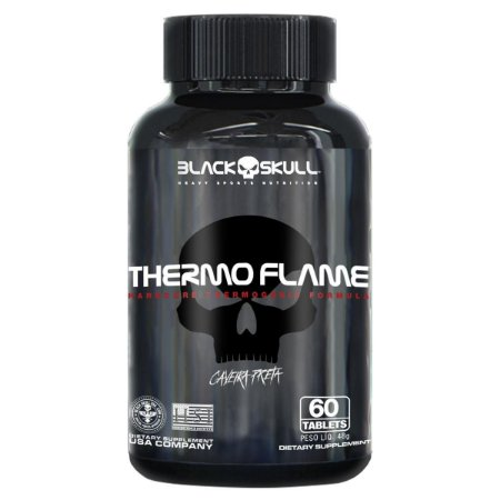 Termogênico Thermo Flame 60 tabletes - Black Skull