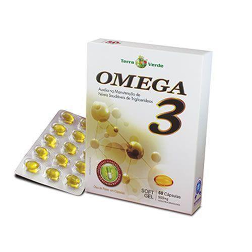 Omega 3 500mg 60 cápsulas - Terra Verde