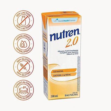 NUTREN® 2.0 Tetra Slim 200 mL - Vitamina de Frutas (Venc: 01-2020)