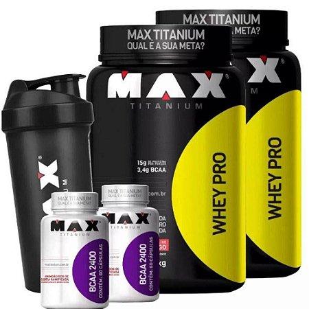 2 Kits whey pro max