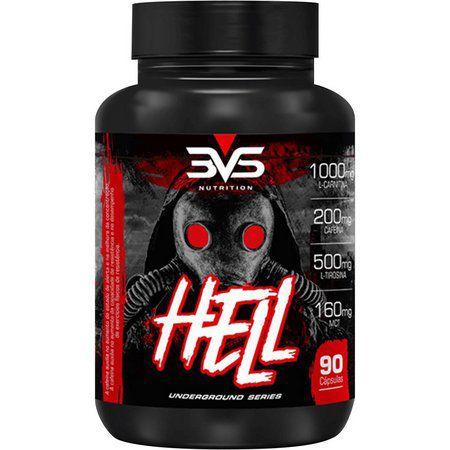 Termogênico Hell 90 Cápsulas - 3VS