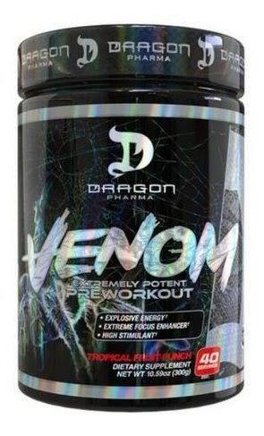 Venom Pre Workout 40 Doses 300g - Dragon Pharma