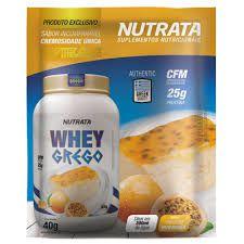 DUPLICADO - Whey Protein Grego 900g - Nutrata
