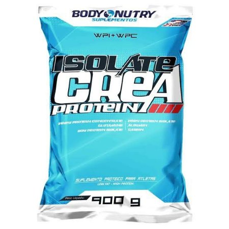 Isolate Crea Protein 900g Refil - Body Nutry