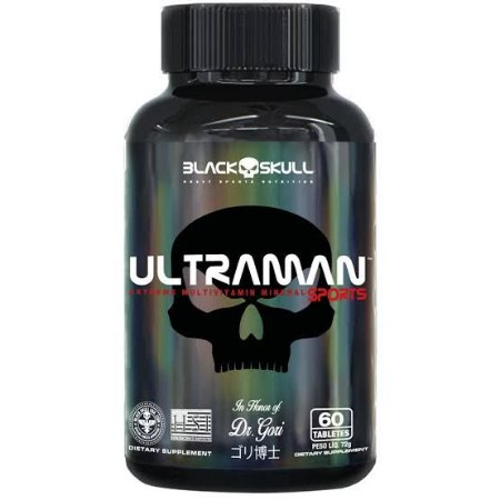 Multivitamínico 60 Tabletes - Black Skull