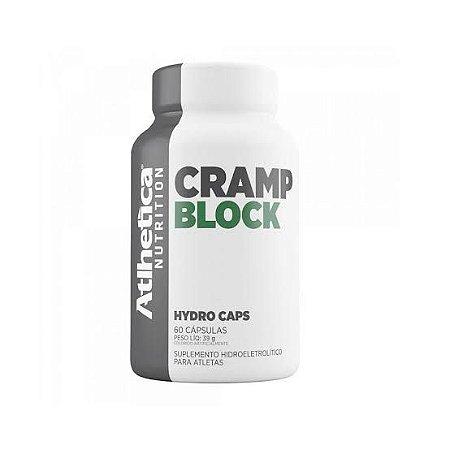 Cramp Block Hydro Caps - 60 cápsulas - Atlhetica Nutrition
