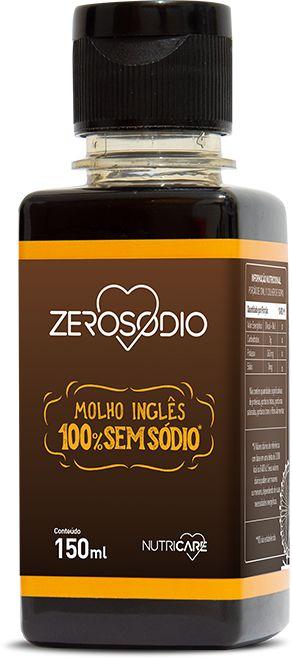 Molho Inglês sem sódio - 150ml - ZeroSodio