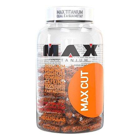 Termogênico Max Cut 60 cápsulas - Max titanium
