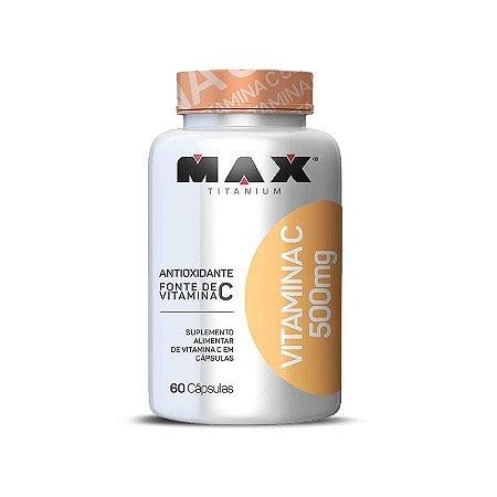 Vitamina C 500mg 60 cápsulas - Max Titanium