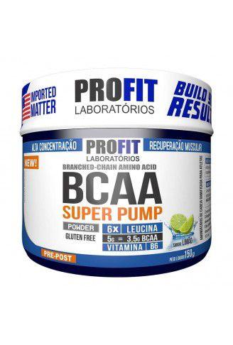 BCAA 6:1:1 Super Pump Powder 150g - Profit Laboratórios