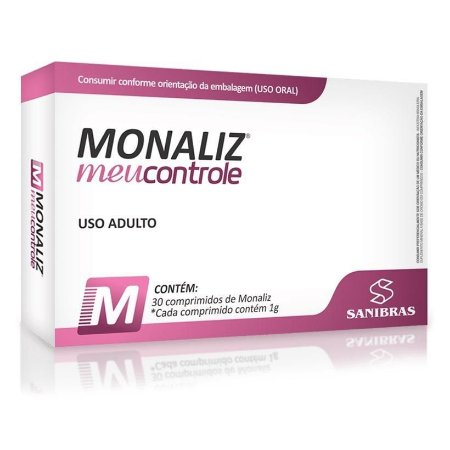 Monaliz Meu controle Emagrecedor 30 comprimidos - Sanibras