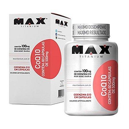 Coenzima Q10 60 caps - Max Titanium