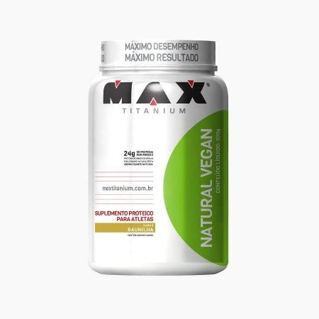 Whey Natural Vegan 500g - Max Titanium