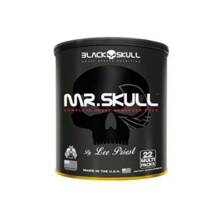 Pack Mr. Skull 22 packs - Black Skull USA
