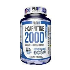 L Carnitine 2000 c/ Cromo 60 tabs - Profit Labs