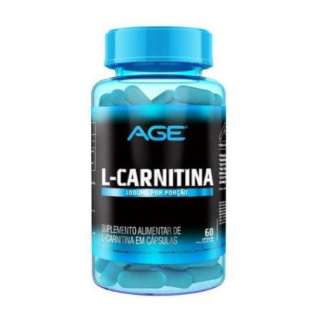 L Carnitina 60 caps 1000mg - Age