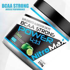 BCAA em pó Strong 4:1:1 250g - Nitro MAX