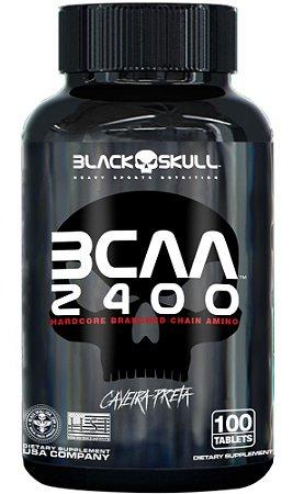 BCAA 2400 100 tabletes - Black Skull