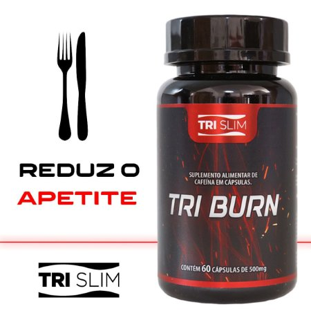 Tri Burn Termogênico 60 cápsulas - Tri Slim