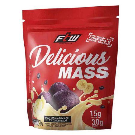 Delicious Mass Hipercalórico 3kg - FTW
