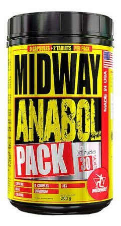 Pack Anabol 30 packs - Midway