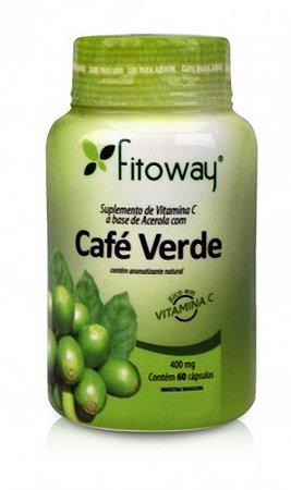 Café verde 500mg 60caps - Fitoway