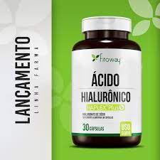Acido Hialuronico 80mg 30 caps - Fitoway