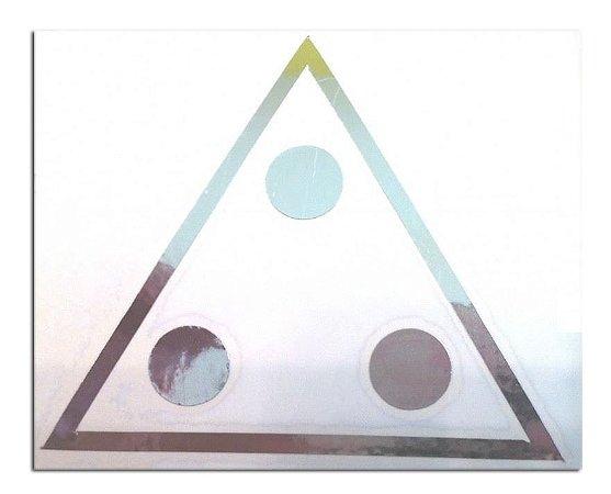 Adesivo 3 Pontos Prata