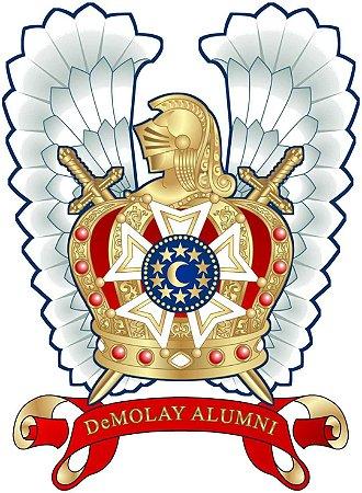 Adesivo Associação Alumni DeMolay