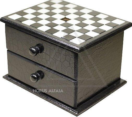 Caixa de Escrutínio Dupla(acompanha 60 esferas)