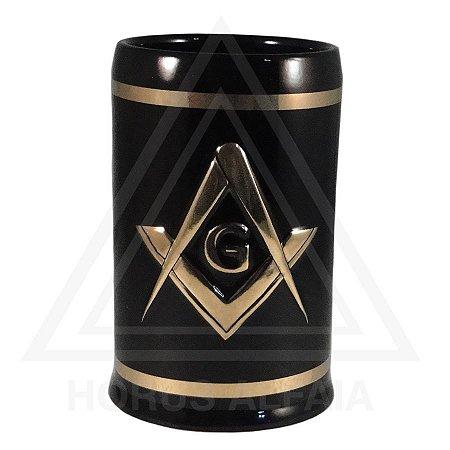 Caneca Esquadro e Compasso - Cerâmica