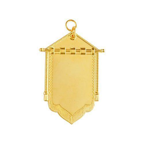 Joia de Porta Estandarte REAA Dourada