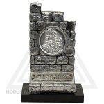 Estatua Muro do Aprendiz - Resina Metalizada