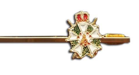 Prendedor de Gravatas - Cavalaria Demolay