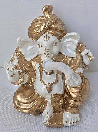 Estatua Ganesha Saudaçoes