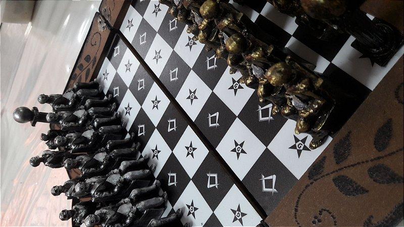 Jogo de Xadrez maçonico