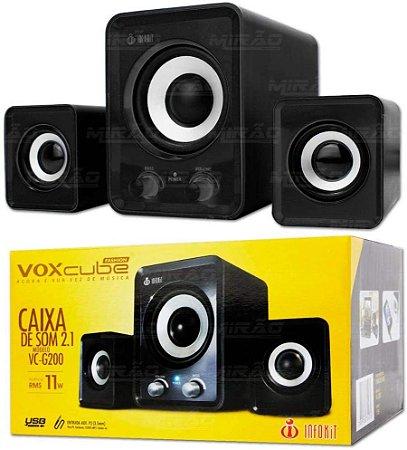Caixa de Som 2.1 VC-G200 - VOX CLUBE