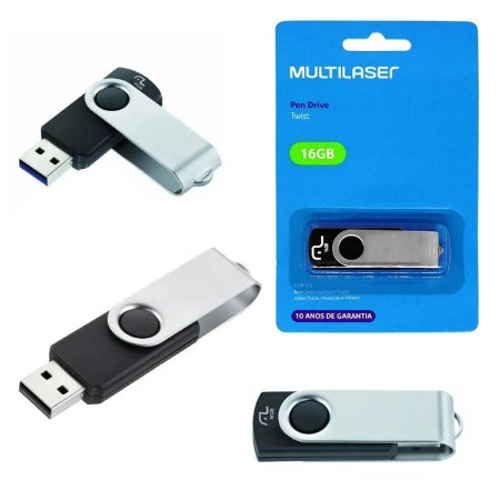 Pen Drive Multilaser Connect 16GB