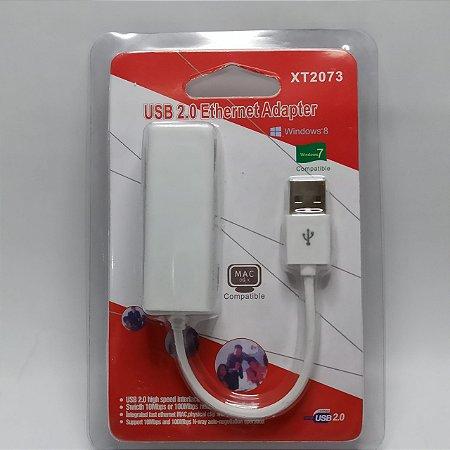 Placa de Rede USB - RJ45 - XT-2073