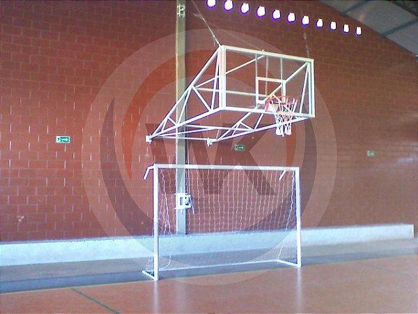 Estrutura de basquete aérea