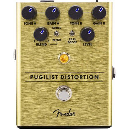 Pedal Fender Pugilist Distortion Guitarra Distorção