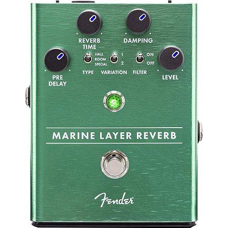 Pedal Fender Marine Layer Reverb Guitarra Baixo Violão