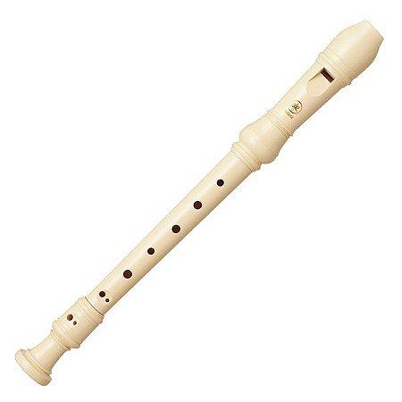 Flauta Doce Yamaha Barroca Yrs 24b Soprano