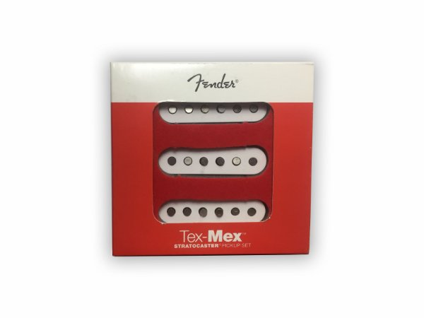 Captador Fender Tex Mex Guitarra Stratocaster Single Set
