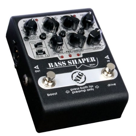 Pedal Bass Shaper Nig Pré Amp Drive Baixo Bsh