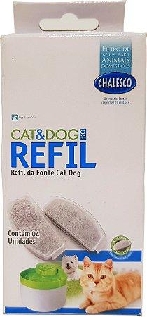 Filtro Refil da Fonte Bebedouro Cat&Dog Chalesco
